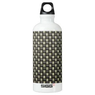 Carbon Fiber (Faux) SIGG Traveler 0.6L Water Bottle
