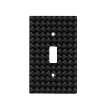 USA Themed Carbon fiber light switch cover
