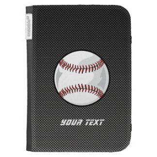 Carbon Fiber look Baseball Case For Kindle