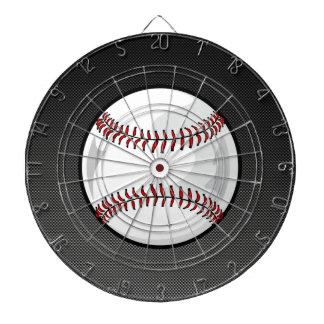 Carbon Fiber look Baseball Dart Board
