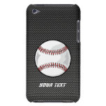 Carbon Fiber look Baseball iPod Touch Cover