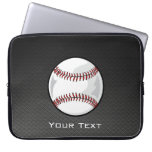 Carbon Fiber look Baseball Laptop Sleeves