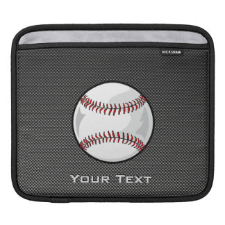 Carbon Fiber look Baseball Sleeve For iPads