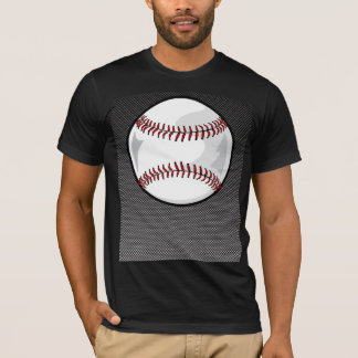 Carbon Fiber look Baseball T-Shirt