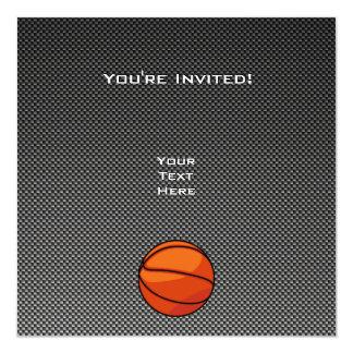 Carbon Fiber look Basketball Card
