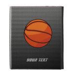 Carbon Fiber look Basketball iPad Case