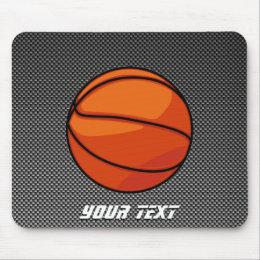 Carbon Fiber look Basketball Mouse Pad