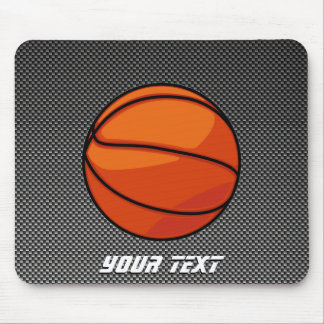 Carbon Fiber look Basketball Mouse Pad