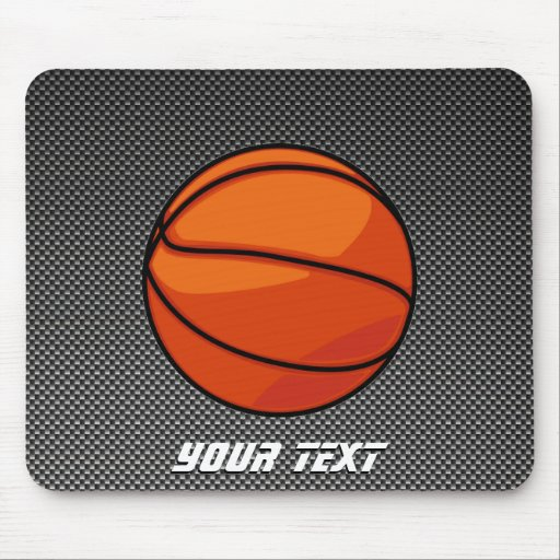 Carbon Fiber look Basketball Mousepads