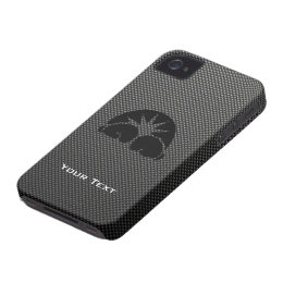Carbon Fiber look Boxing Gloves iPhone 4 Cover