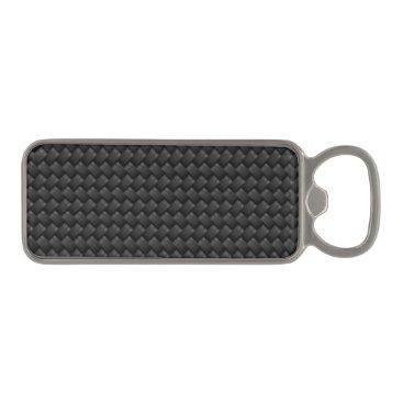 USA Themed Carbon fiber magnetic bottle opener