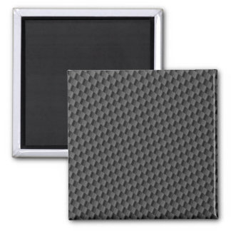 Carbon Fiber Material 2 Inch Square Magnet