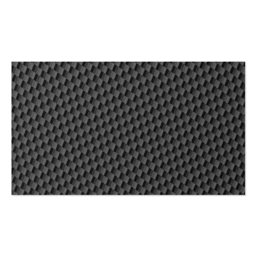 Carbon Fiber Material Business Card Template