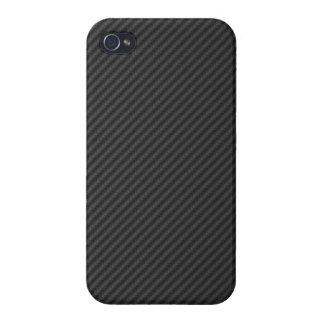 Carbon fiber material design racing car auto drift iPhone 4/4S cover