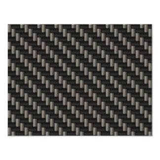 Carbon Fiber Material (faux) Card