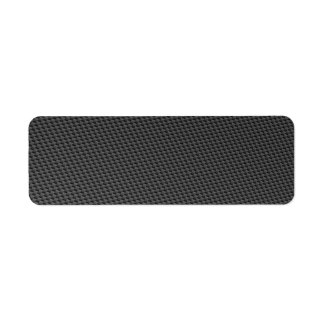 Carbon Fiber Material Label