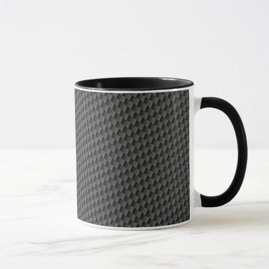 Carbon Fiber Material Mug