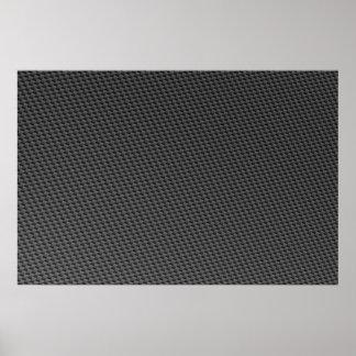 Carbon Fiber Material Poster