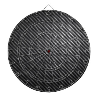 Carbon Fiber Pattern Dart Board