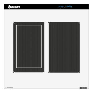 Carbon fiber Pattern Decals For Kindle Fire