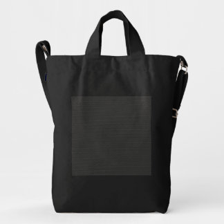 Carbon fiber Pattern Duck Bag