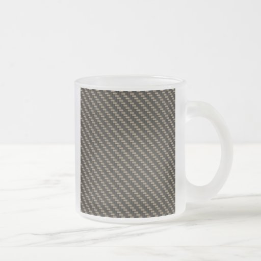 Carbon Fiber Pattern (faux) Mugs