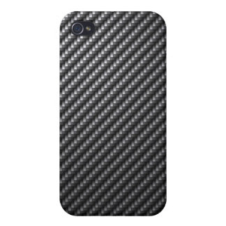 Carbon Fiber Pattern iPhone 4/4S Cover