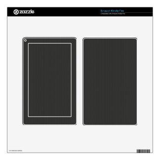 Carbon fiber Pattern Kindle Fire Decals