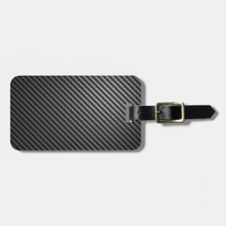 Carbon Fiber Pattern Tags For Bags
