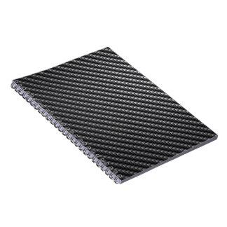 Carbon Fiber Pattern Notebook