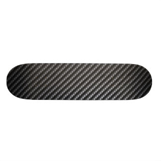Carbon Fiber Pattern Skateboard Deck