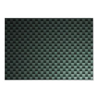 Carbon Fiber Patterned Card