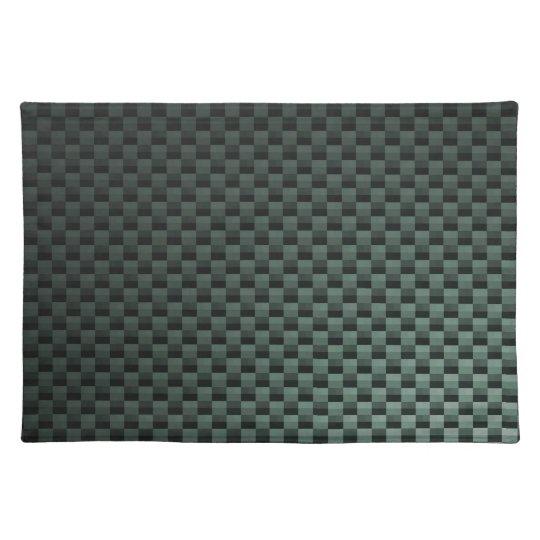 Carbon Fiber Patterned Cloth Placemat