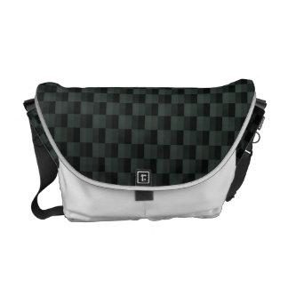 Carbon Fiber Patterned Courier Bag