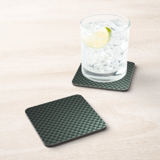 Carbon Fiber Patterned Drink Coaster