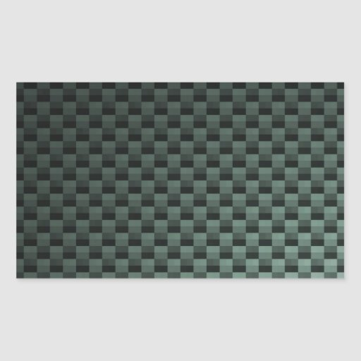 Carbon Fiber Patterned Rectangular Sticker