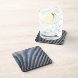 Carbon Fiber Photo Textured Beverage Coaster
