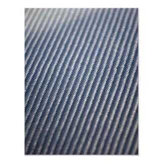 Carbon Fiber Photo Textured Card