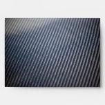 Carbon Fiber Photo Textured Envelope