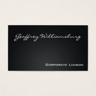 Carbon Fiber Professional Business Cards