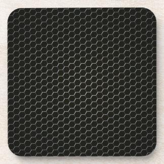Carbon-fiber-reinforced polymer beverage coasters