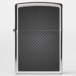 Carbon-fiber-reinforced polymer Texture Zippo Lighter