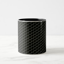 Carbon-fiber-reinforced polymer Two-Tone coffee mug