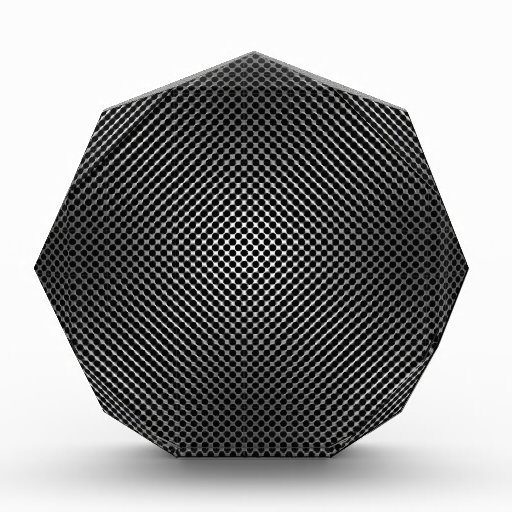 carbon fiber skin vo.1 acrylic award