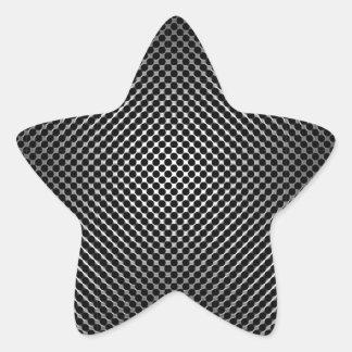 carbon fiber skin vo.1 star sticker