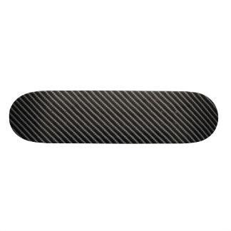 Carbon Fiber Style Skateboard Deck