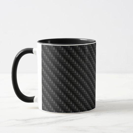 Carbon Fiber Texture Mug