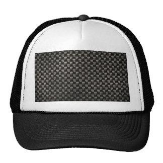 Carbon Fiber Texture Trucker Hat