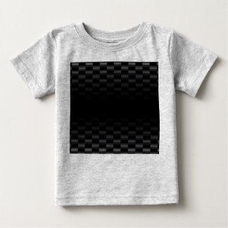 Carbon Fiber Textured Baby T-Shirt