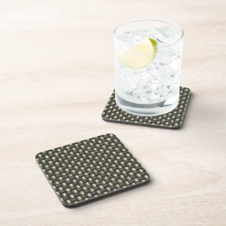 Carbon Fiber Textured Beverage Coaster